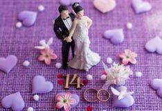 Wedding anniversary, anniversary. Holiday greetings royalty free stock photography