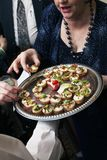 Wedding appetizers Royalty Free Stock Photography