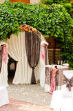 Wedding arch Stock Photography