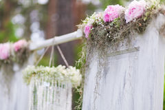 Wedding arch Royalty Free Stock Images