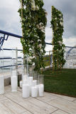 Wedding arch ceremonies Stock Photo