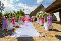 Wedding arch Royalty Free Stock Photos