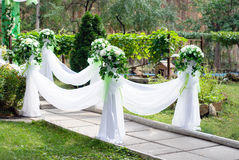 Wedding arch Stock Image