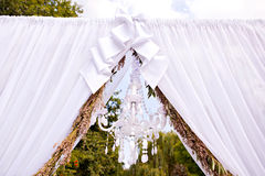 Wedding arch Royalty Free Stock Photography