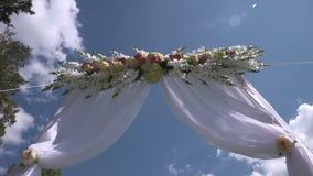Wedding arch stock footage