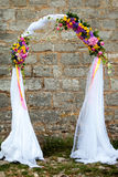 Wedding arch Stock Photo
