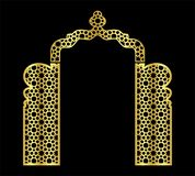 Islamic laser wedding arch gate template for cutting from vinyl the decor is a stylized openwork pattern of. stock illustration