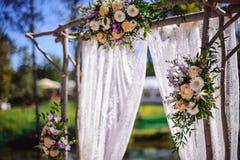 Wedding arch Royalty Free Stock Image