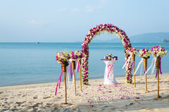 Wedding Arch Stock Photography