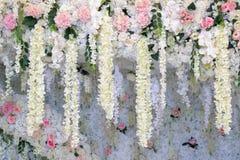 Wedding arch and wedding background. Wedding arch and wedding decor background Royalty Free Stock Image