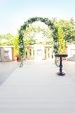 Wedding arch Stock Image