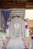 Wedding archway Royalty Free Stock Image