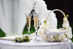 Wedding arrangement Stock Photography