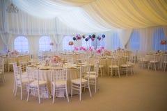 Wedding arrangement Royalty Free Stock Image