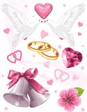 Wedding art Royalty Free Stock Photo