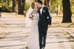 Wedding autmn Stock Image