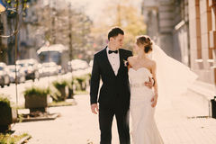 Wedding autmn Stock Photography