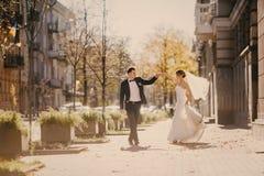 Wedding autmn Stock Photos