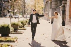 Wedding autmn Stock Images