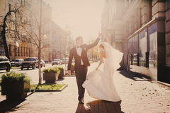 Wedding autmn Royalty Free Stock Images
