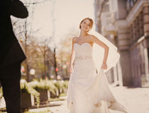 Wedding autmn Royalty Free Stock Photos