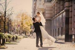 Wedding autmn Stock Photo