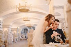 Wedding autmn Royalty Free Stock Image