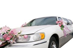 Wedding automobile Stock Photo