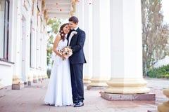 Wedding in autumn Stock Photo