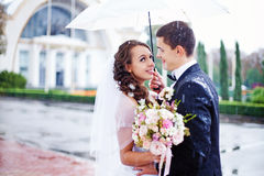 Wedding in autumn Royalty Free Stock Images