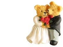 Wedding Bären Lizenzfreies Stockfoto