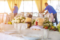 Wedding Bären Stockfotos