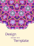 Картины карточки или приглашения с геометрической текстурой для wedding b Стоковая Фотография RF
