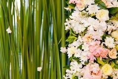 Wedding backdrop Stock Image