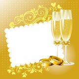Wedding background Stock Photography