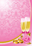 Wedding background Stock Images