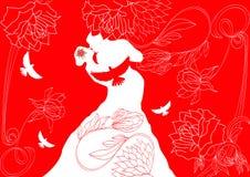 Wedding background Stock Image
