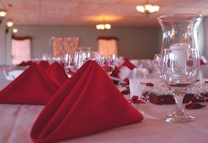 Wedding Background. Wedding table Stock Photography