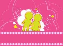 Wedding background design Stock Image