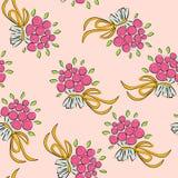 Wedding background. floral wallpaper stock illustration