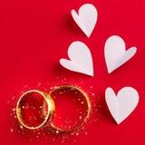 Wedding background -  handmade design Stock Images