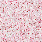 Wedding Background from Pink Roses Royalty Free Stock Images