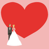 Wedding background with space for text Stock Photo