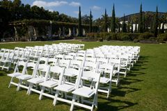 Wedding in Balboa Park Stock Image