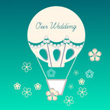 Wedding balloon Stock Photos