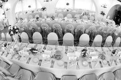 Wedding ballroom Royalty Free Stock Image