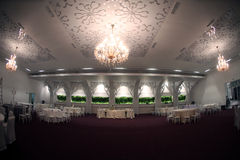 Wedding ballroom Stock Photo