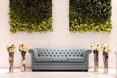 Wedding ballroom couch Stock Photos