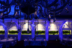 Wedding ballroom Stock Photography