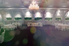 Wedding ballroom Stock Photo